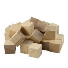 Unfinished Wooden Blocks for Crafts and Carving Plain Blank Natural Wood Blocks