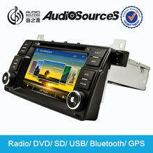 1 din 7 inch car dvd for bmw e46 navigation system with radio HD 1080P video lossless music lyric SD USB