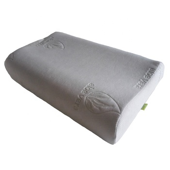 Aloe Vera Bamboo Contour Memory Foam Bed Pillow