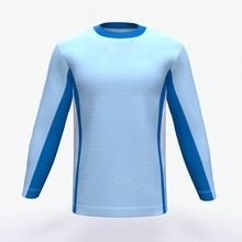 Custom sublimation long sleeve t shirt for mens supplier