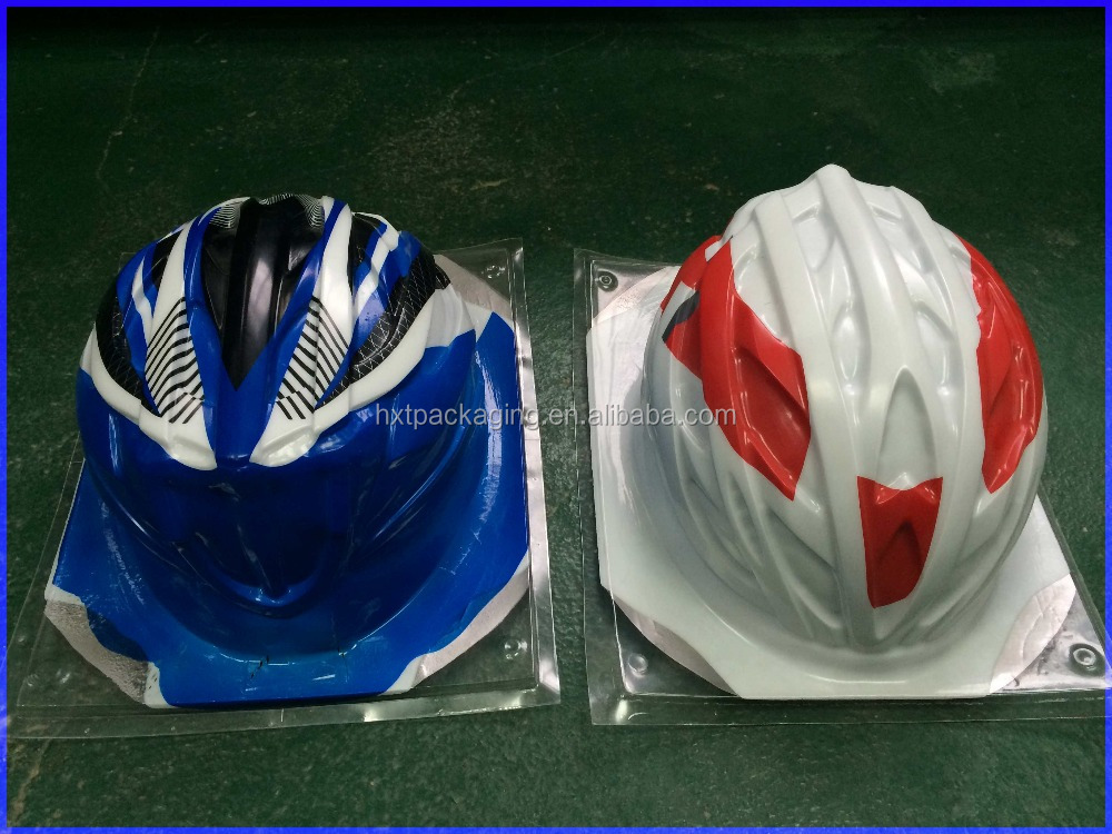Clear acrylic display stand plastic box for helmet