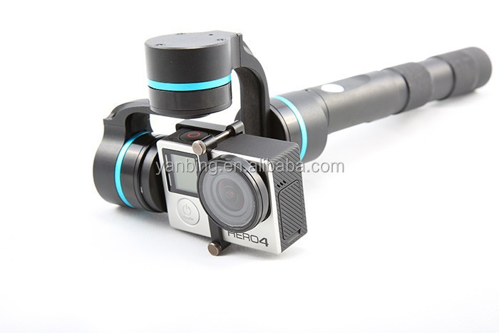 Feiyu G4 3-Axis brushless handheld steadycam camera gimbal stabilizer for Go pro3 4