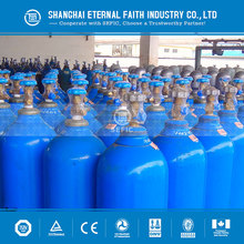 TPED with DOT 3AA filling medical oxygen gas cylinder 50l used for hospital