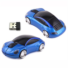 Wholesale custom racing click car wireless optical mouse