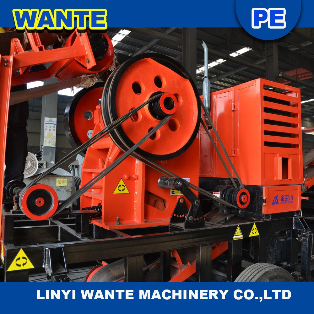 small diesel engine stone jaw crushers line of production for small scale mining