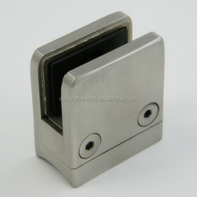 Stainless Steel round post glass clip