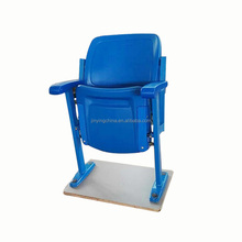 Outdoor blow molding cheap fixed plastic stadium seats