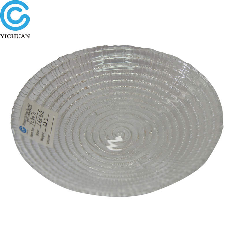 Good quality clear glass tray