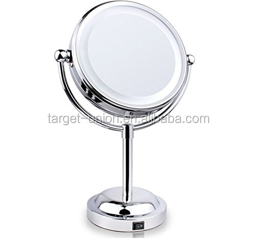 2016 Best USA 6 inch illuminated Vanity Mirror with LED