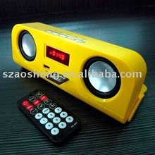 Portable FM radio Speaker with USB SD port