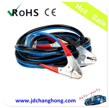 20 foot 1 Gauge - Booster Cable Jumping Cables with Rubber handle sheath Galvanize Clamps SUV/vehicles/trucks.