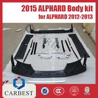 High Quality New China Type 2015 Alphard Body Kit for Toyota Alphard 2012-2013