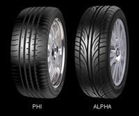 ACCELERA ALPHA 215-40 ZR17 87W XL Tyre for Speed n Style