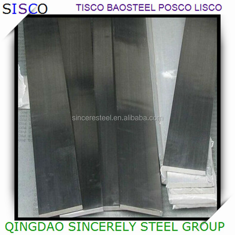 SS 309 flat bar price importing from China steel manufacture