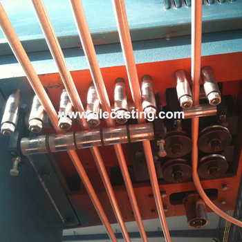 8mm copper rod upward continuous casting machine system