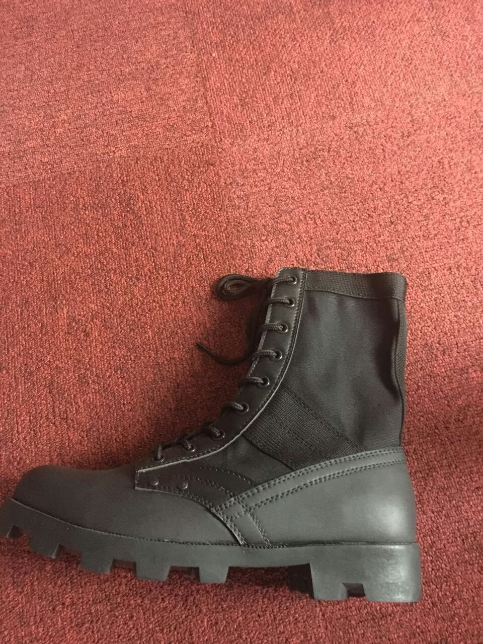 American style military army boots panama combat boots