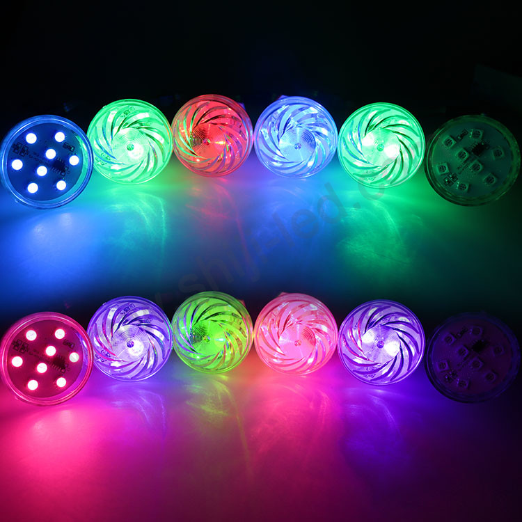 Outdoor ip65 ce rohs dc24v e14 <strong>bulb</strong> 360 RGB pixel light 60MM led string light