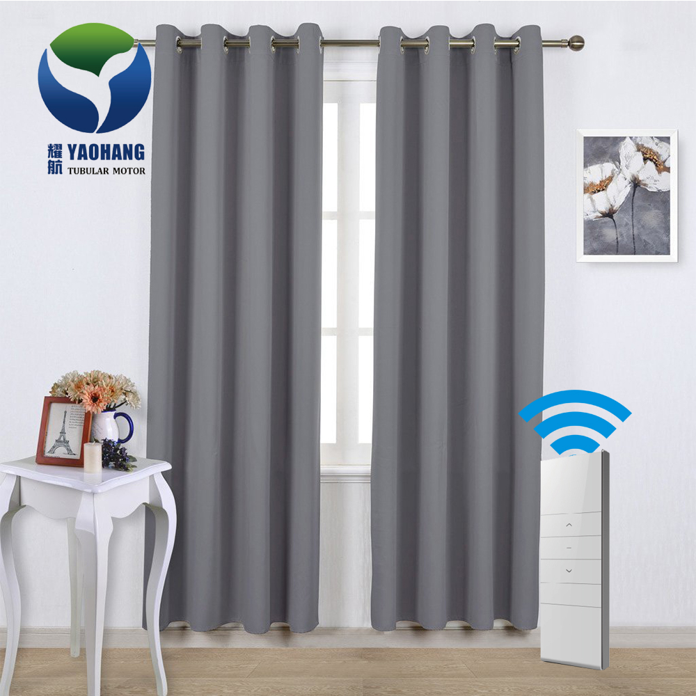 Electric Curtain System Wholesale Window Cotton Curtain YC-1E