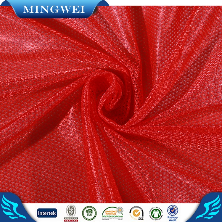 China supplier Zhejiang textile upholstery mesh fabric for sports shoes stocklots