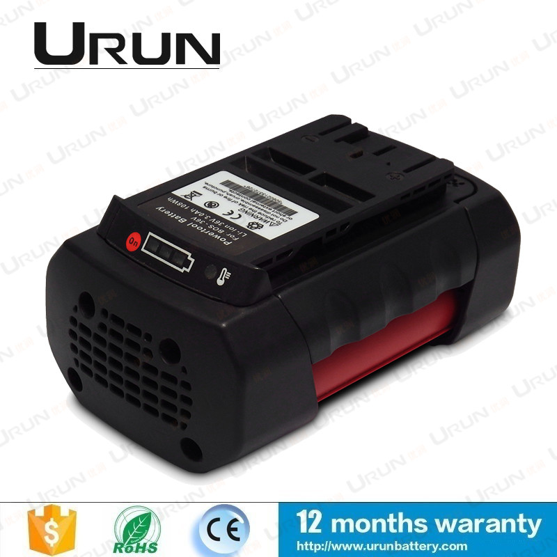 36V 4000mAh Urun Power Tool Battery With Battery Indicator