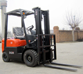 China Brand New 1500kg Diesel Forklift Trucks for Sale, Optional triple mast, side shift
