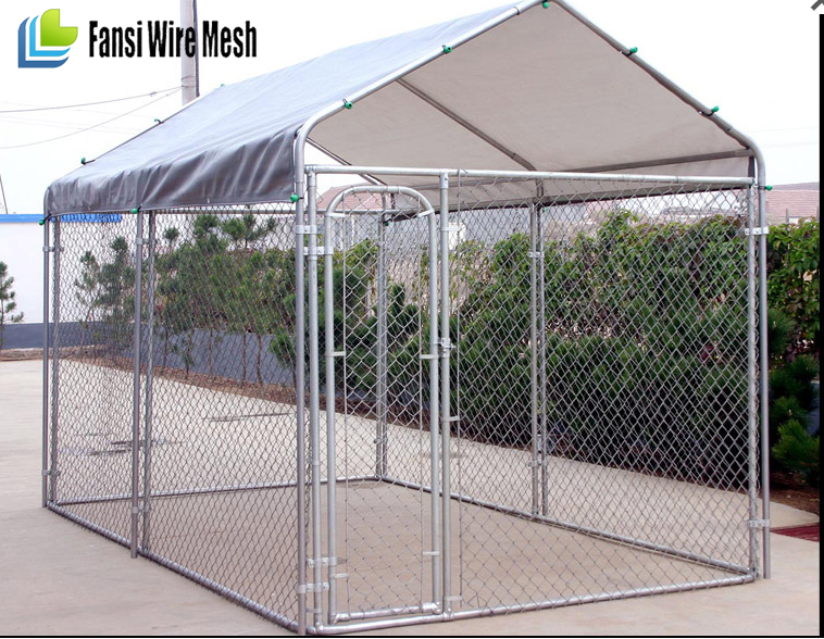 2016 hot sale Factory wholesale cheap stainless steel outdoor used dog cage