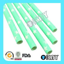 High Quality Hot Sale Silver Star Paper Straws