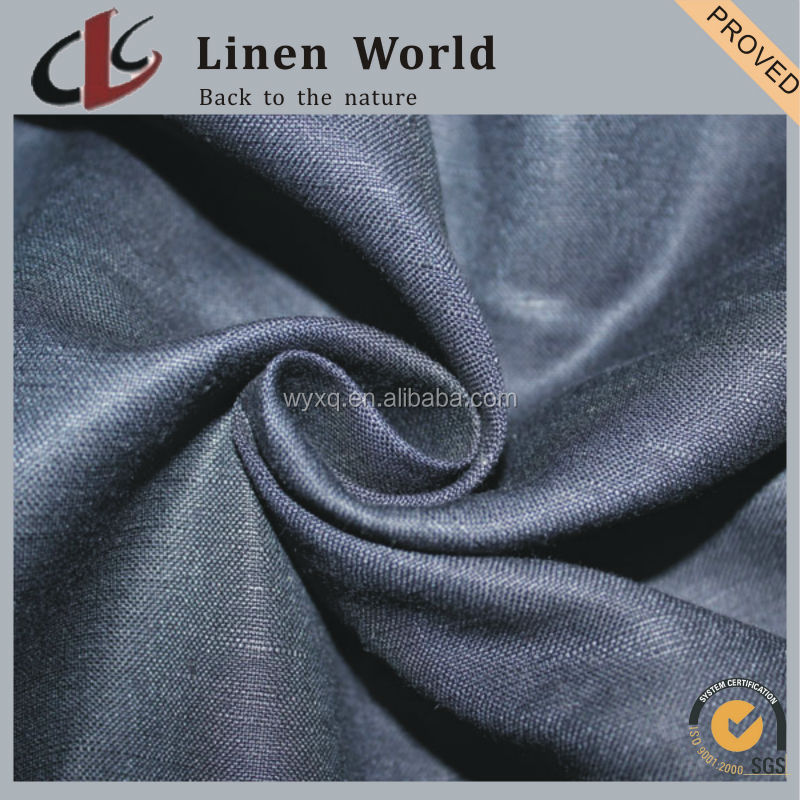 3024 Linen Rayon Blended Plain Dyed Fabric