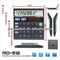 large scientific calculator 12-digit solar check function calculator desk top calculator