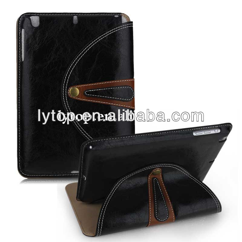 Luxury Old Design Leather Case For IPad Mini 2,For IPad Mini 2 Cas