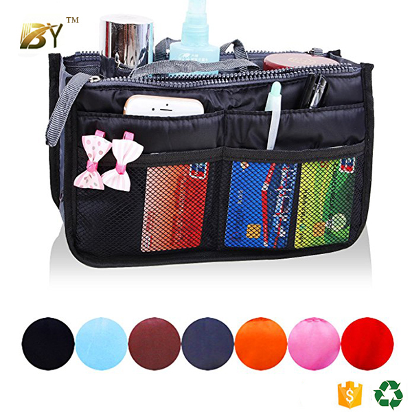 Hot Sell Bag Organizer Tote Bag Travel Insert Handbag Organiser