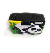 Auto film roll camera cheap camera cartoon shape cute camera
