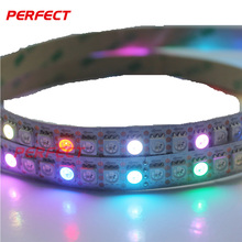 144leds/m smd5050 rgb running led strip light addressable ce rohs ul listed