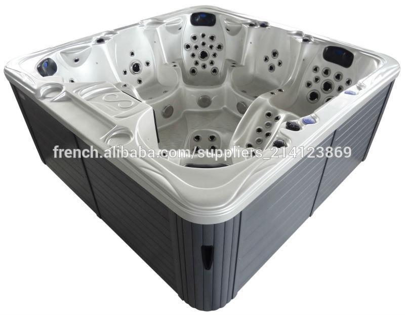 spas creus es autoportant bain remous baignoire de massage avec 150 jets baignoire bains. Black Bedroom Furniture Sets. Home Design Ideas
