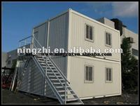 two storey Prefab 20ft container house/SITE OFFICE CONTAINER