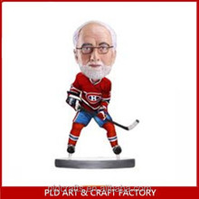 customized ice hockey bobblehead