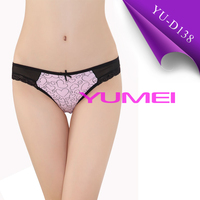 Sex cotton lace thong panties underwear for woman and young girl