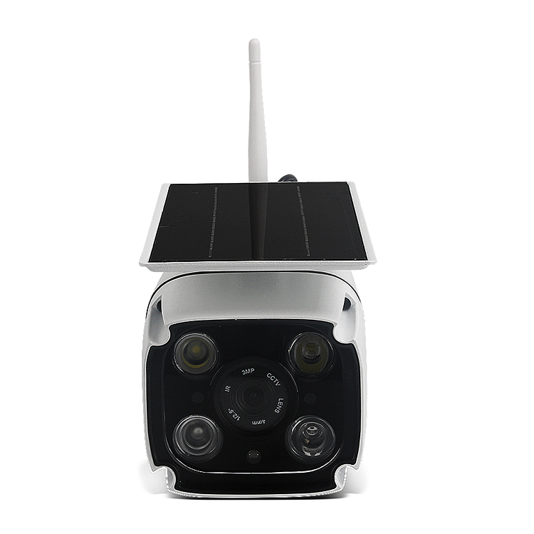 Holide Lower Power Rechargeable Battery Solar WiFi Camera Waterproof Outdoor Wireless Camera