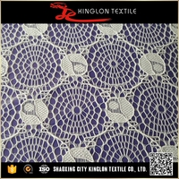 New Type Top Sale Indian Lace Embroidery Fabric
