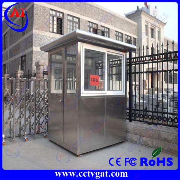 Solid steel fabrication and construction Virtually Maintenance Free sentry box shed prefab house