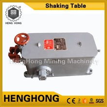 Professional supplier gold cil equipment shaking table zinc concentrate price