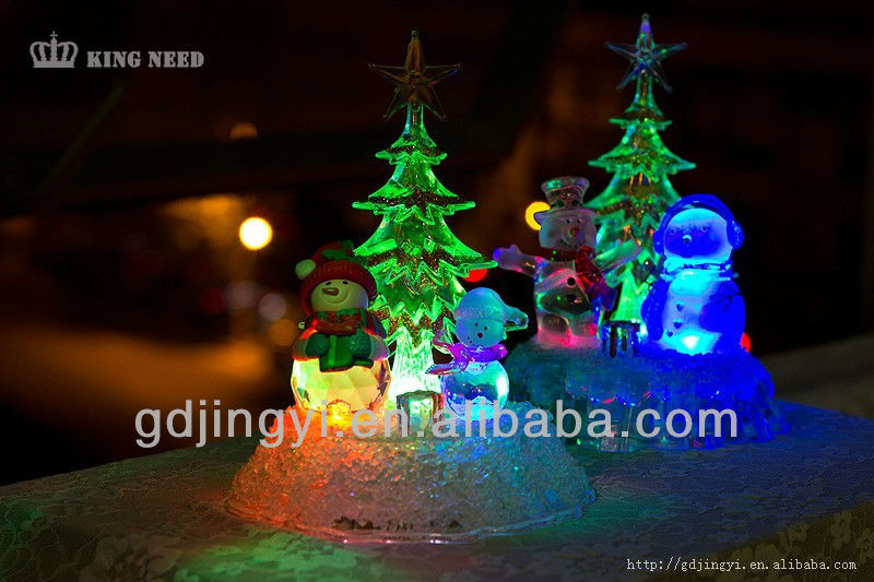 dongguan high quality acrylic led christmas light decoration