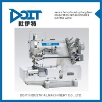 DT500-05CB Interlock industrial sewing machine with right hand side fabric trimmer 5 thread sewing machine