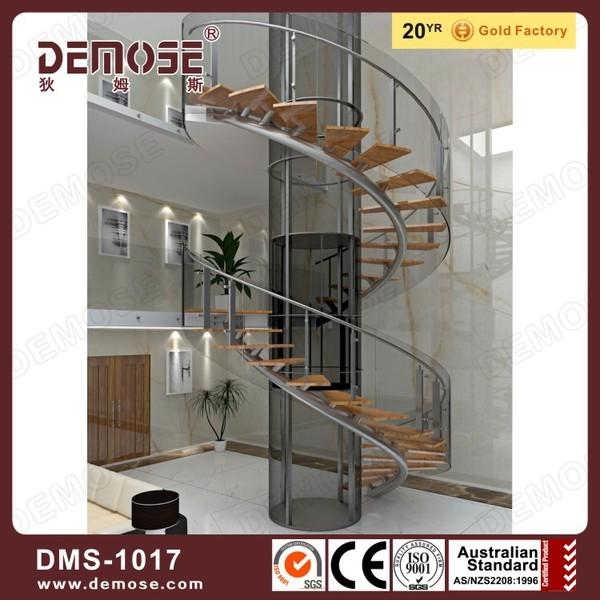 escaleras interiores de diseo escaleras de aceromadera precio