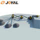 Joyal 250-300TPH Jaw & Impact Crushing Plant for gravel making