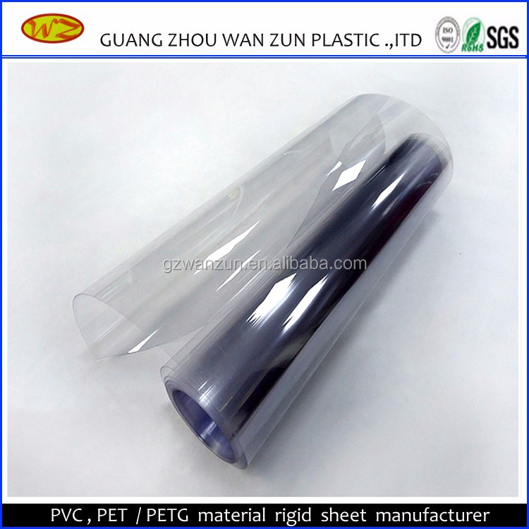 Plastics Waterproof Rigid Medical PVC In Rolls