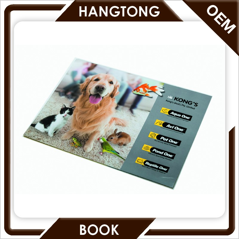 Custom poster cheap printing flyers printing coated paper double side print
