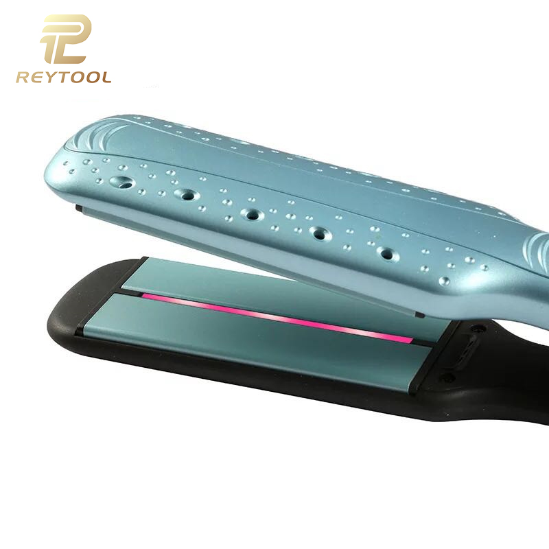2018 Wholesale fast iron steam infrared fast hair straightener hair straightener steam hair straightening