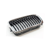 E38 740i 740iL 750iL 1998 - 2001 Ez Grille (Chrome Tipped Center) For 51138231595