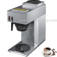 1.8L 10 Cup Stainless Steel Home Restaurant Office Coffee Maker